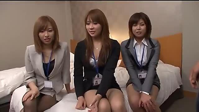 愛内梨花 雫パイン 彩音さくら OLの女の子たち