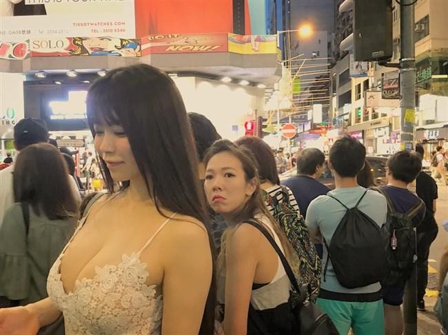 渋谷ゆり~ノブナカなんなん?で胸の谷間を見せつけた新インスタの女王!0011shikogin