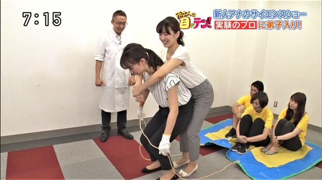 杉原凜~ZIP!でのピチピチのニット服姿で胸の盛り上がりを強調でエロカワ!0012shikogin