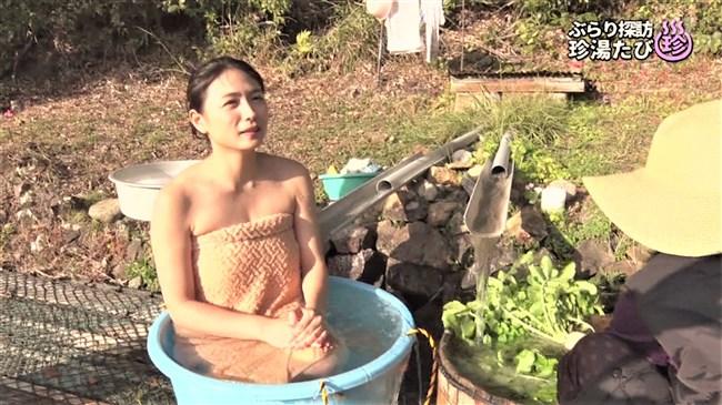川村ゆきえ~BSの秘湯ツアー番組で見せた美熟女のバスタオル巻きの姿に興奮!0008shikogin