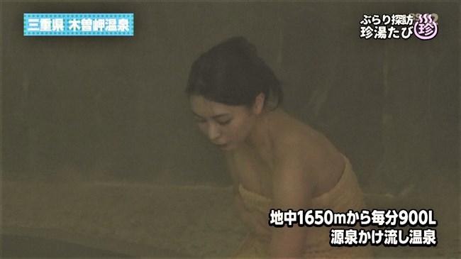 川村ゆきえ~BSの秘湯ツアー番組で見せた美熟女のバスタオル巻きの姿に興奮!0009shikogin