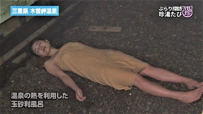川村ゆきえ~BSの秘湯ツアー番組で見せた美熟女のバスタオル巻きの姿に興奮!0014shikogin