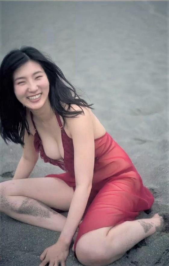 福井セリナ~超美しい最強リケジョの水着グラビア再び!やっぱエロの女神や!0007shikogin