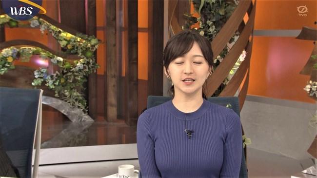 片渕茜~WBSトレンドたまごでのオッパイ強調の縄跳びはエロ過ぎて成人指定!0005shikogin
