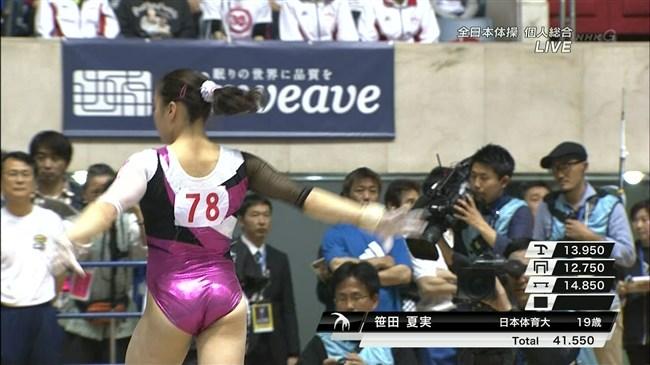 女性体操選手の目のやり場に困る下半身画像に注目wwwww0011shikogin