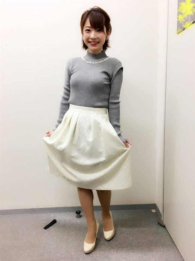 奈良岡希実子~Nスタでの久々に見せた巨乳なニット服姿に興奮を隠し切れない!0011shikogin