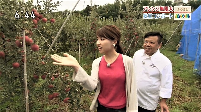 前川夏生~NHK金沢局の美人にして巨乳をアピールしたレポートがエロ過ぎる!0009shikogin