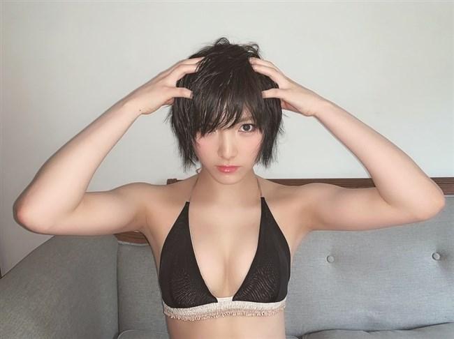 岡田奈々[STU48]~週刊チャンピオンに掲載された最近水着グラビア!バイセクシャル疑惑!0016shikogin