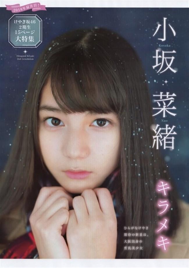 小坂菜緒[日向坂46]~雑誌の表紙を飾れば必ず売れると伝説を作った超美形のグラビア!0015shikogin