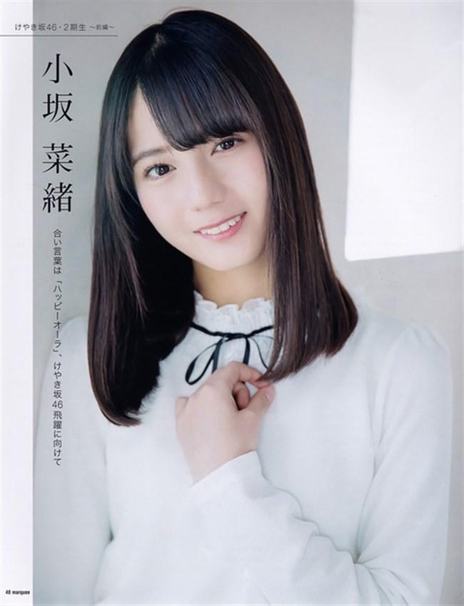 小坂菜緒[日向坂46]~雑誌の表紙を飾れば必ず売れると伝説を作った超美形のグラビア!0016shikogin