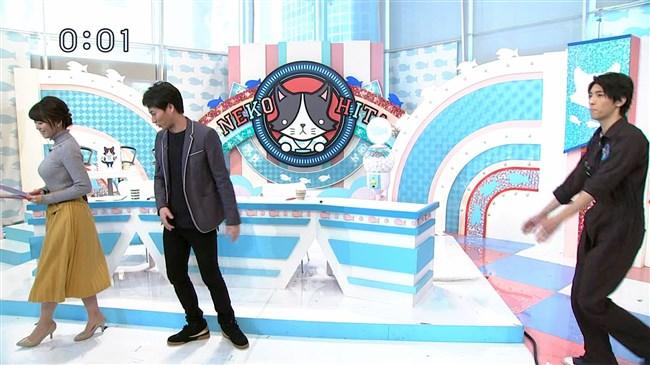 岡村帆奈美~テレビ神奈川の美人アナが目立つようなニット服で視聴者を悩殺!0009shikogin