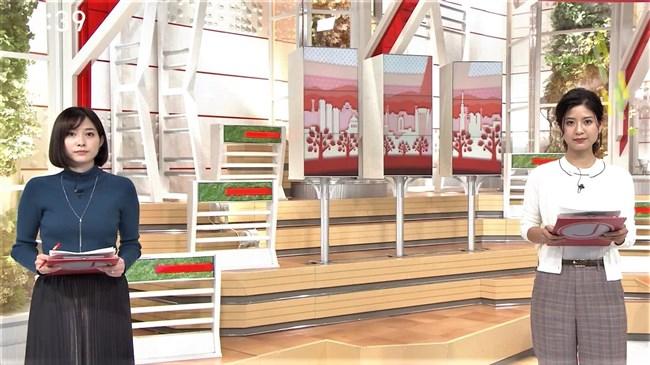 桝田沙也香~スーパーJチャンネルでの胸の膨らみが悩ましいニット服姿が極上!0009shikogin