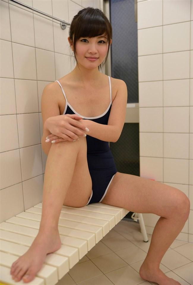 カラダのラインが浮き出る競泳水着のエロさが超過激wwwww0016shikogin