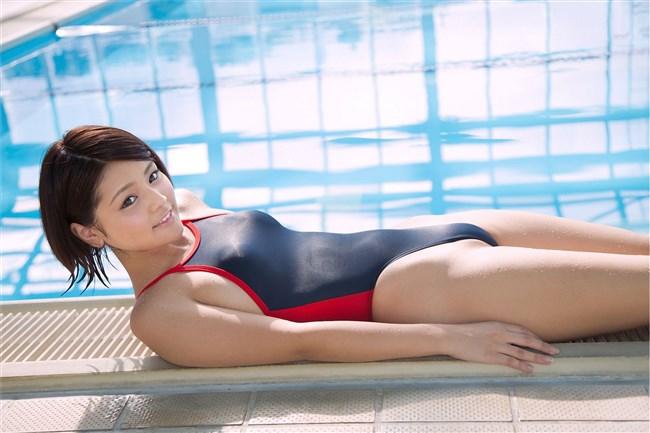 カラダのラインが浮き出る競泳水着のエロさが超過激wwwww0020shikogin