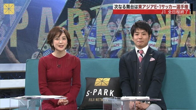 宮司愛海~S-PARKでのプックリしたニット服オッパイがエロ過ぎて股間スパーク!0012shikogin