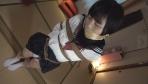 【DID】股縄・制服緊縛・猿轡 ロープで縛られ悶える姿を視姦される女2