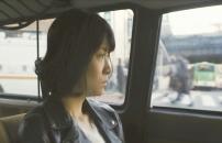 車の中から渋谷の街を見てる