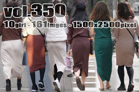 vol350-タイトなニットスカートの綺麗なヒップライン