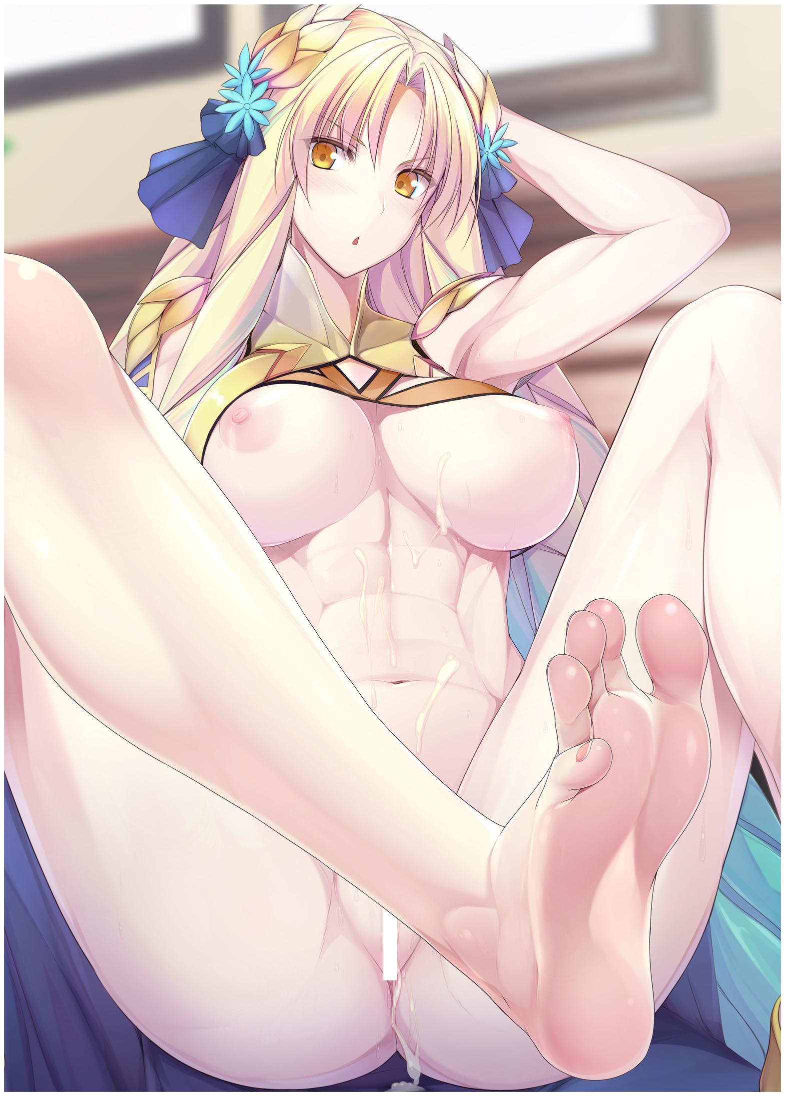 【FGO】アストライア(ルヴィア)の足フェチ二次エロ画像【Fate/GrandOrder】