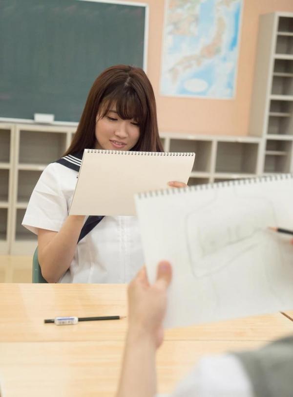 女子校生が制服姿でエッチな事してるエロ画像110枚の044枚目