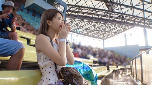 今日、会社サボりませんか?01 in 池袋 ルイちゃん 23歳 新人美容師 笑顔が可愛すぎるFカップの新人美容師さんが仕事をサボっちゃいました 300MIUM-508(妃月るい) 06