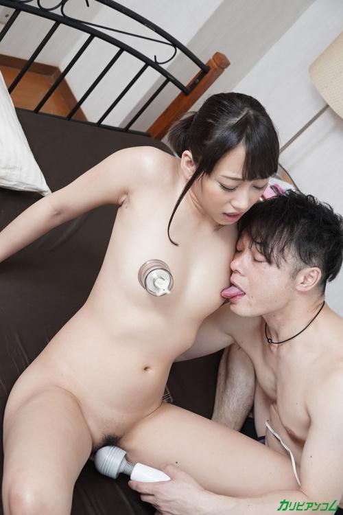 いじられ続けてガチガチになるマゾ乳首8 青木美香 無修正動画 カリビアンコム 19
