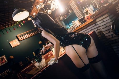 迷失人形 陪酒女郎 アズールレーン 愛宕(Azurlane Atago) Bunny Girl cosplay 62