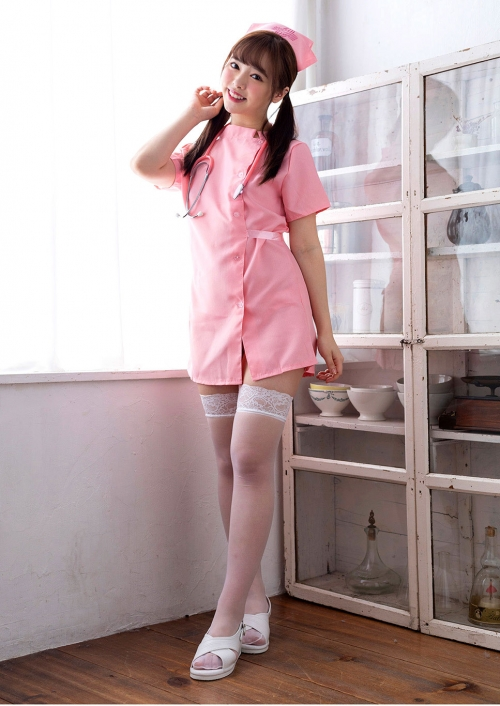 AV女優 小倉由菜 ナースコスプレ Nurse Cosplay 02