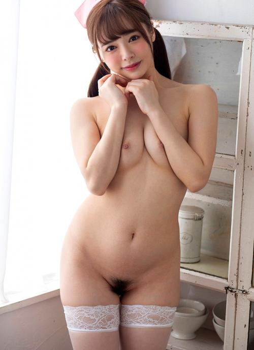 AV女優 小倉由菜 ナースコスプレ Nurse Cosplay 08