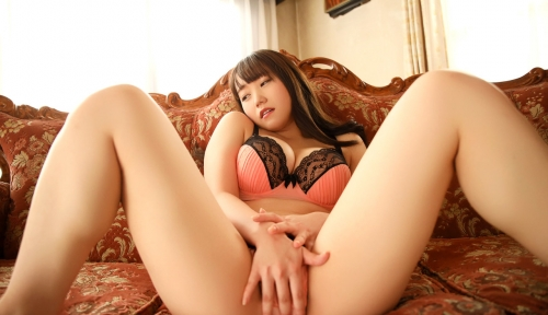巨乳AV女優 若宮穂乃 セックス画像 22