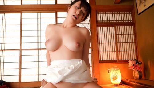 巨乳AV女優 若宮穂乃 セックス画像 94