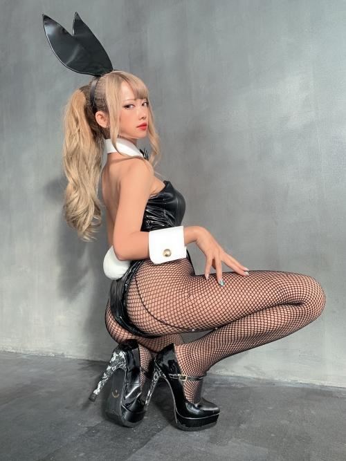 バニーガール Bunnygirl Cosplay 36