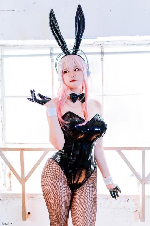 バニーガール Bunnygirl Cosplay 81