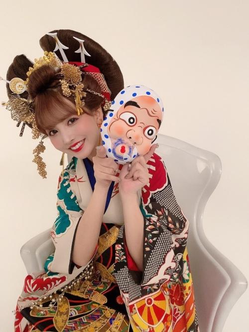 三上悠亜 花魁 コスプレ 09