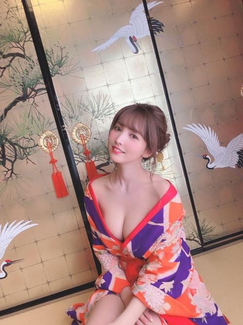 三上悠亜 花魁 コスプレ 19