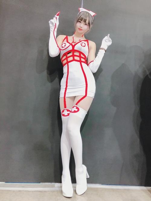性的なナースコスプレ Nurse Cosplay 06