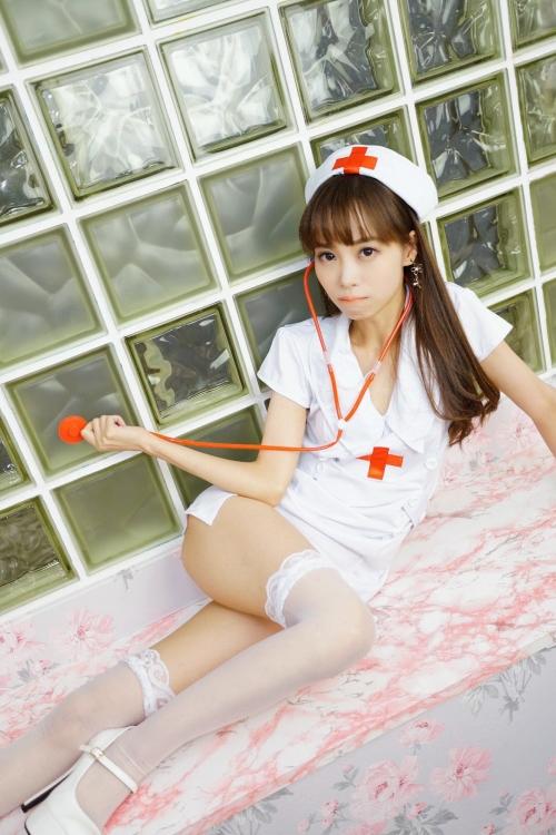 性的なナースコスプレ Nurse Cosplay 11