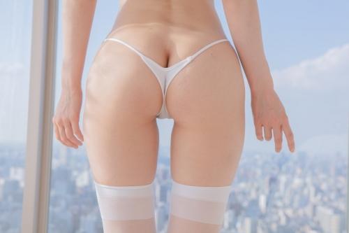 白のセクシーランジェリー 63