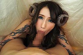 巨乳サキュバスが搾精しまくる淫魔セックス画像