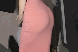 タイトスカートの尻のエロさを隠しきれてない画像 part10