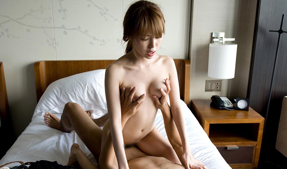 騎乗位 セックス 画像 17
