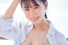 アイドル界No.1のグラビアBODYらしいNMB48の上西怜(18)がヤンマガで水着姿を見せつけてるぞ!