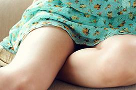 無防備な大腿のエロさにドキッと…太もも画像100枚