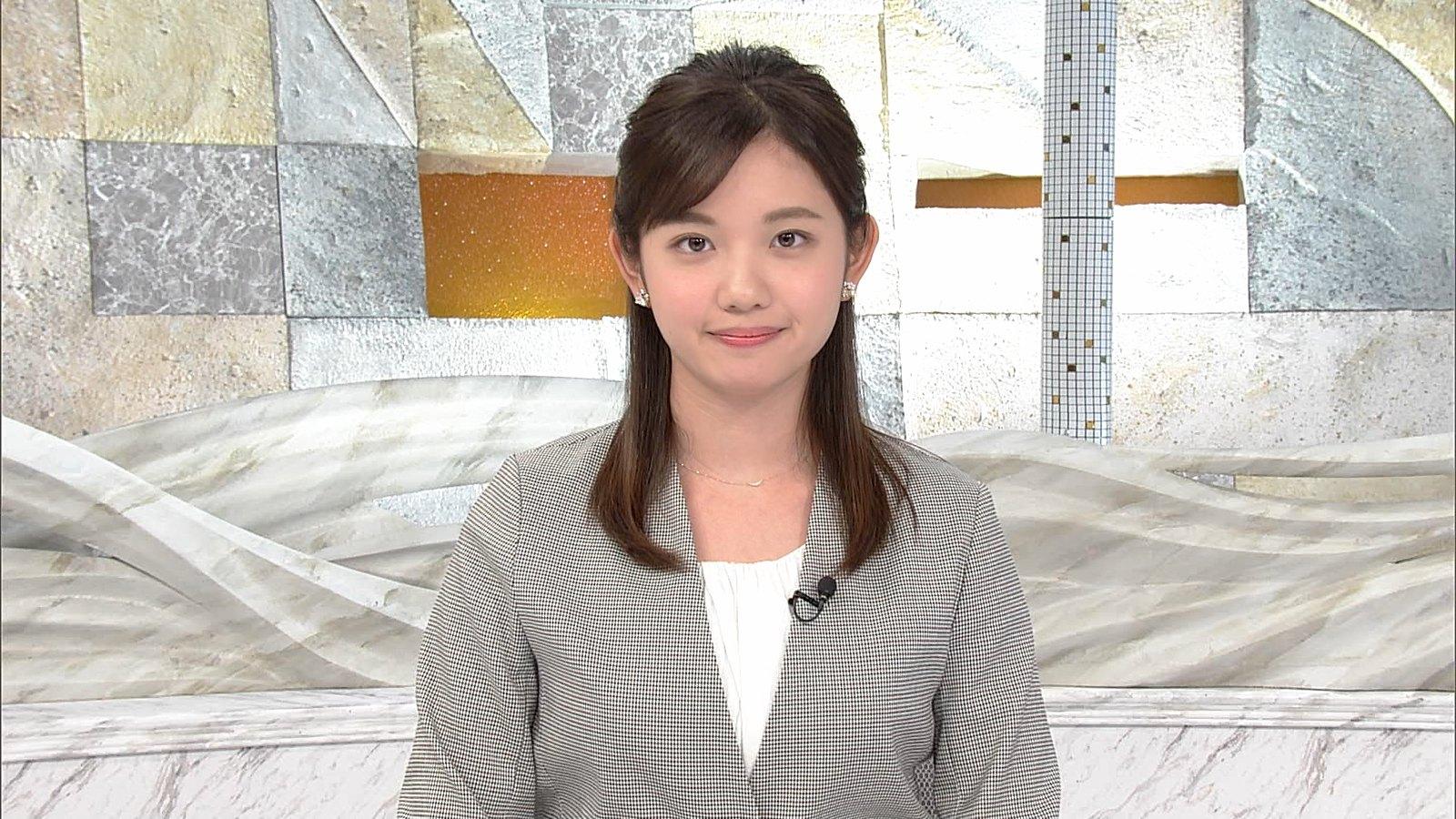 田中瞳アナの可愛い顔8