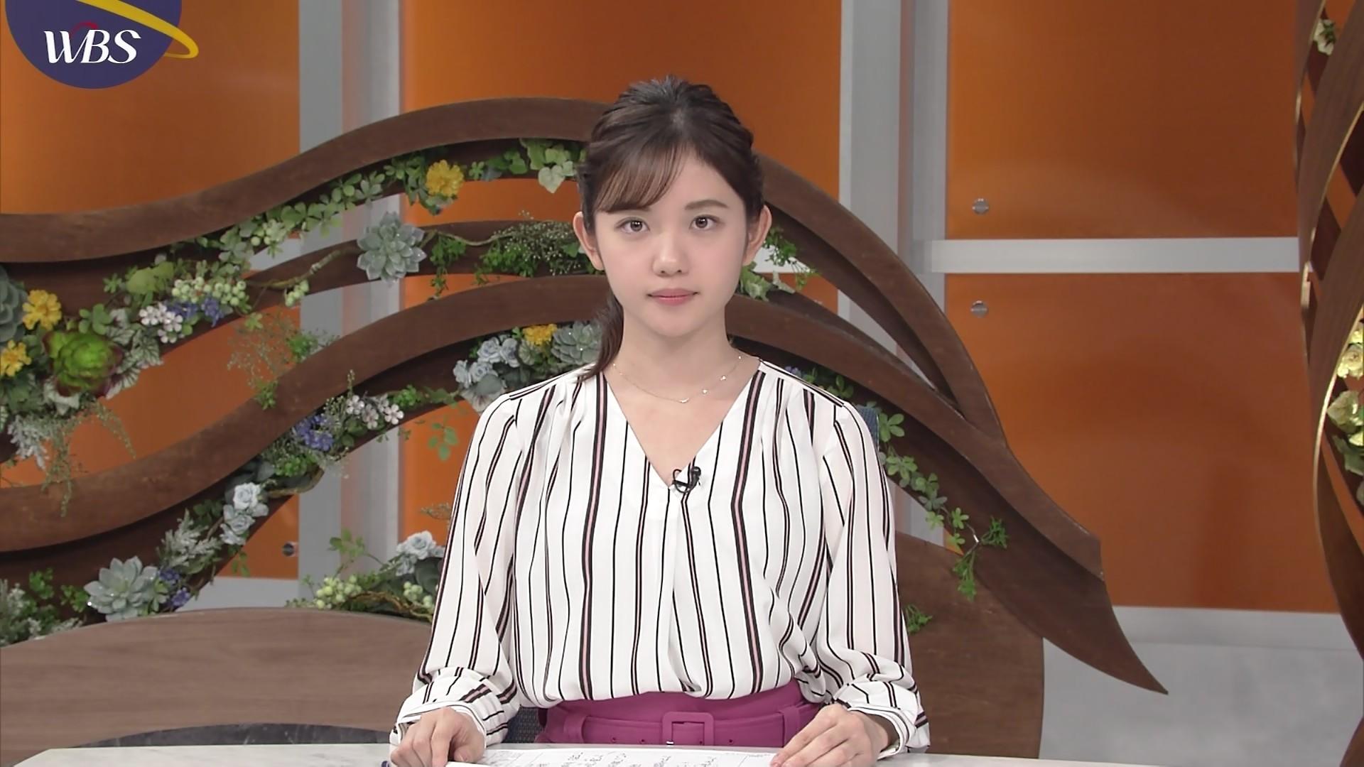 田中瞳アナの可愛い顔12