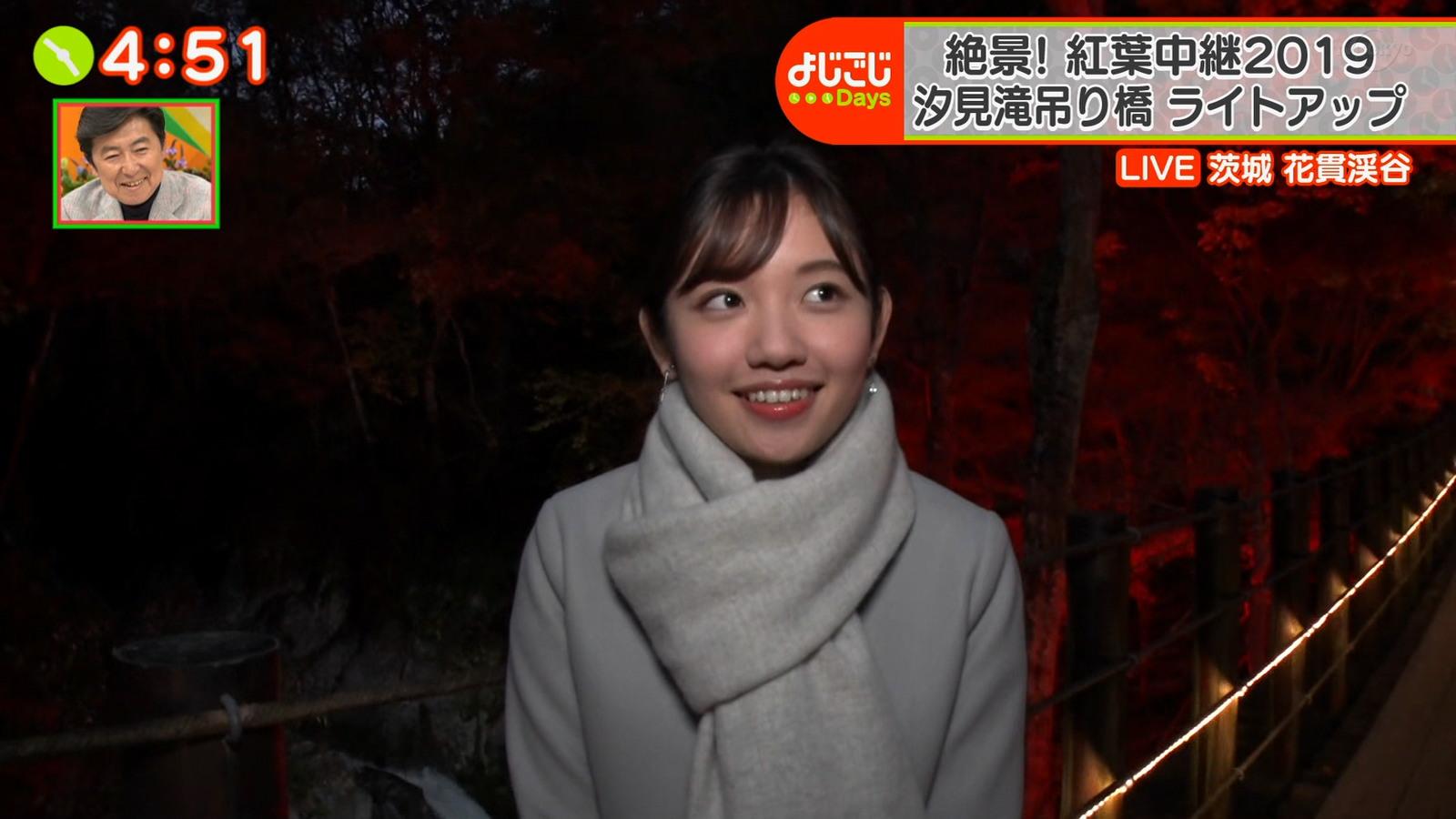 田中瞳アナの可愛い顔15