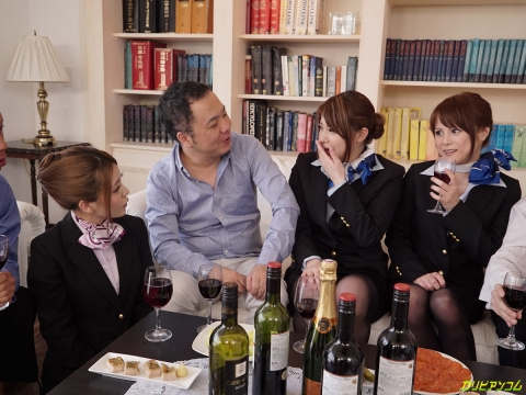 ワイン CA 乱交