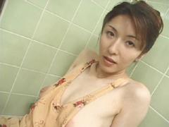 【無修正】林原栄子 美人人妻ザーメンゴックン