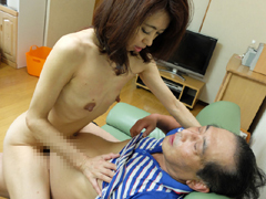 【無修正】木村梢 熟年配達業者と五十路妻