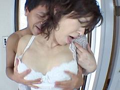 【無修正】里中亜矢子 家政婦・里中亜矢子の兄弟喰い